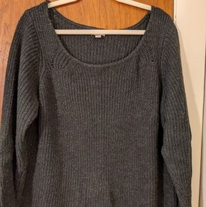 Charcoal Gray Sweater